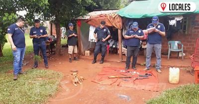 Desbaratan banda delictiva en el barrio Santo Domingo