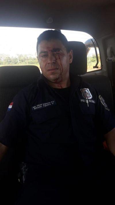 Enfrentamiento entre policías y labriegos en Repatriación