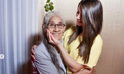 Rocío Adorno celebró los 80 años de su abuela