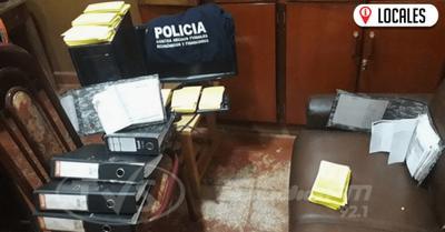 Agentes de la Policía Nacional aprehendieron a dos sujetos por supuesta usura