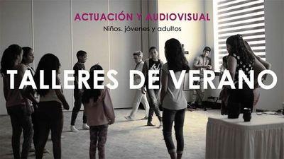Talleres de verano de actuación y audiovisuales en Amamos Cine