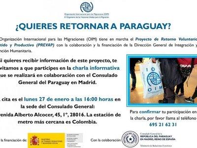 Ofrecen   ayuda para  retornar de España