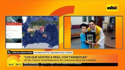 #CoronaVirus Padre Carlos César López