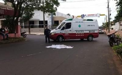 Menor muere arrollado por camión que circulaba de contramano