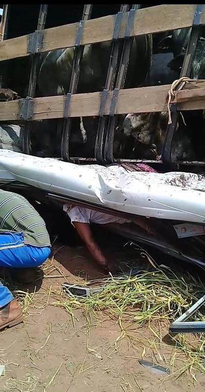 Brutal choque en San Pedro deja cuatro muertos