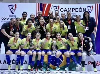 Brasil se quedó con la Copa América Femenina de Futsal