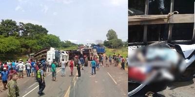TRÁGICO ACCIDENTE EN SAN PEDRO DEL YCUAMANDIYÚ