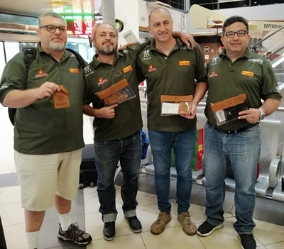 Equipo paraguayo viajó a la Primera Cumbre Internacional de Parrilleros