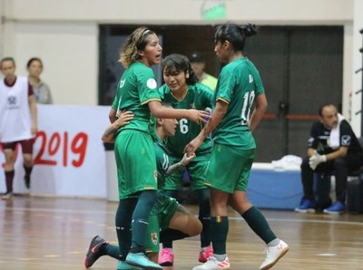 Pasó una nueva jornada de la Copa América Femenina de Futsal FIFA