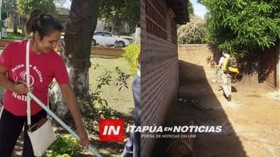 CNEL. BOGADO Y SU INTENSA MINGA EN SU LUCHA CONTRA EL DENGUE