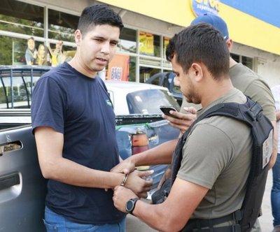 Candidato a concejal fue detenido con cocaína en Luque
