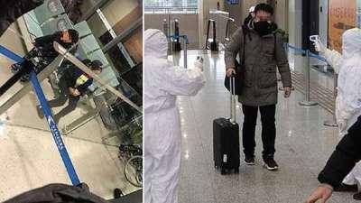 China: Una pareja casi abandona a sus hijos en el aeropuerto por tener síntomas del coronavirus