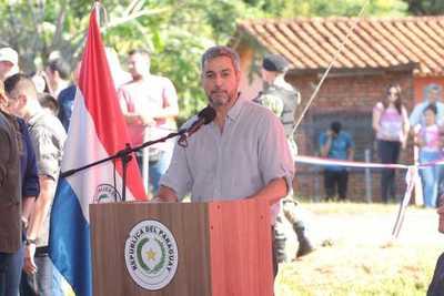 Presidente resalta obras impulsadas en beneficio de la gente, por encima de banderias políticas