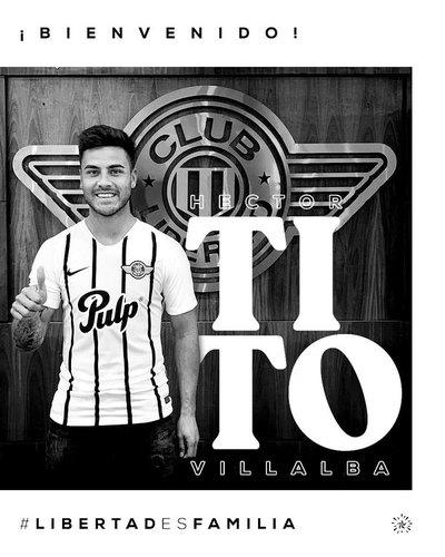 Libertad: Héctor 'Tito' Villalba es confirmado como refuerzo