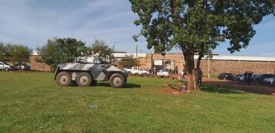 Reforzarán seguridad ante posible antentado a entidades bancarias en San Pedro