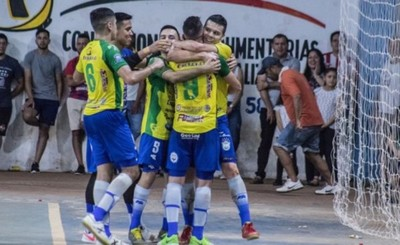 Apabullantes victorias de Franco, Paranaense y Minga