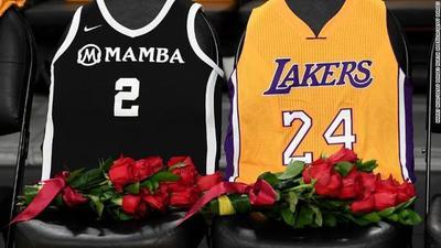 El conmovedor tributo de los Lakers a Kobe Bryant