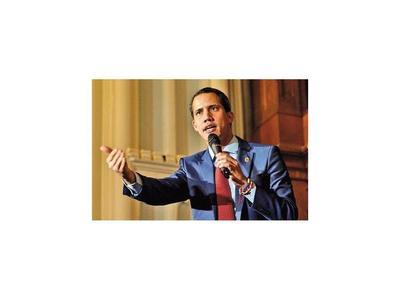 Guaidó sacará a la dictadura de su país, sostuvo en EEUU