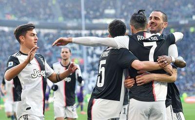 Juventus mantiene el paso firme, Lazio segundo