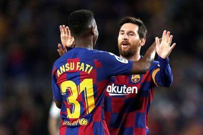 La conexión Messi y Ansu Fati, letal en el Barça