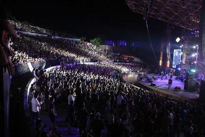 Reciclarte: unas 18 mil personas vibraron con el prisma del rock