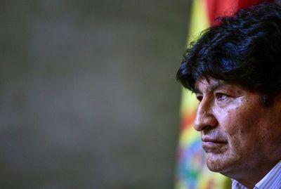 Morales confirma interés de legislar