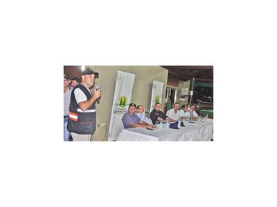 Lanzan plan cosecha segura en María Auxiliadora, Itapúa