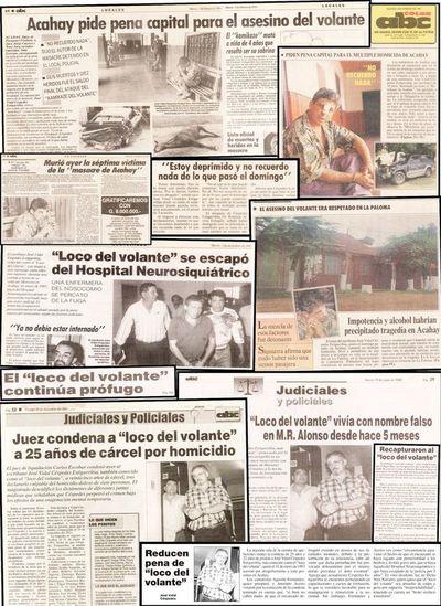 """A 27 años  de la marcha del terror del  primer """"loco del volante"""" del país"""
