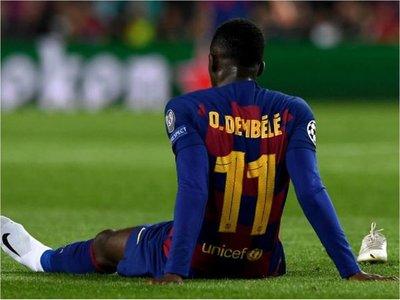 Dembélé sufre molestias pero el club las atribuye a una fatiga muscular