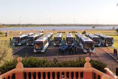 Nuevos buses diferenciados circulan desde hoy en nuestra ciudad capital