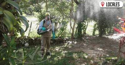 Senepa realiza fumigaciones en instituciones educativas del país