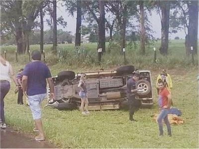 Vuelco en Alto Paraná ya se cobra cuatro vidas