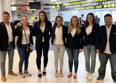 Paraguayas viajaron a Chile para disputar la Fed Cup 2020