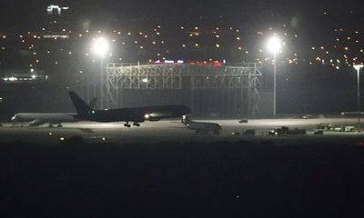 El avión del Air Canada aterrizó sin mayores dificultades