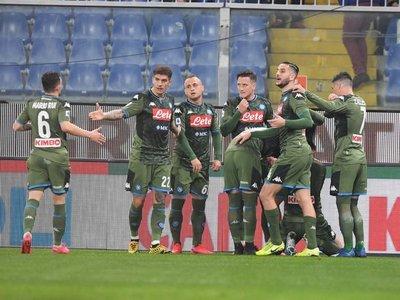 Napoli vence a Sampdoria y se acerca a puestos europeos