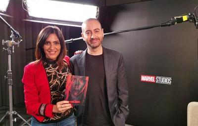 "Lucia Sapena entrevistó al productor de ""Black Widow"""