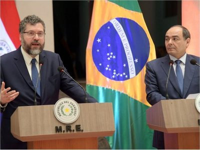 Itaipú: Brasil arma su equipo y tiene buena voluntad, dice Araújo