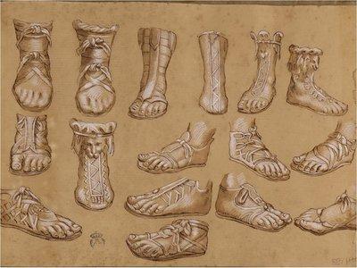 En la historia del calzado, todos los caminos conducen a Roma