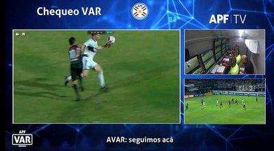 APF publica análisis del VAR en polémico partido Olimpia vs. San Lorenzo