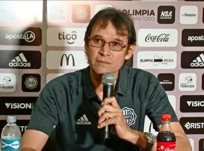 Raúl Vicente Amarilla, manager de Olimpia: 'El VAR es un perjuicio'