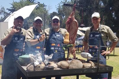 Parrilleros paraguayos ganan concurso internacional