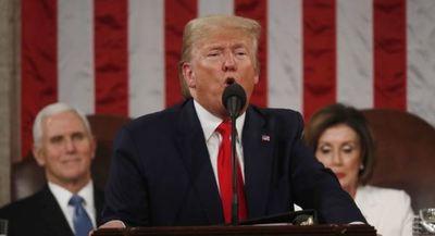 Trump reivindica su 'acuerdo del siglo' en el discurso al Congreso en EEUU