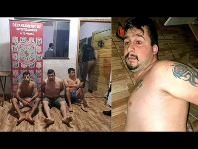 CAPTURAN A PELIGROSO NARCO BRASILEÑO EN CAPITÁN BADO