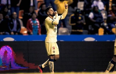 América triunfó ante Puebla gracias a un gol paraguayo