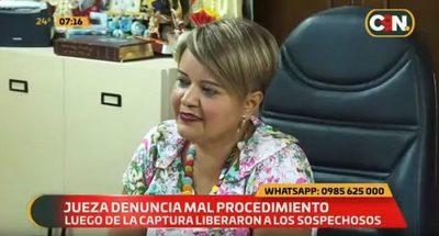Conocida jueza es víctima de asalto y denuncia mal procedimiento