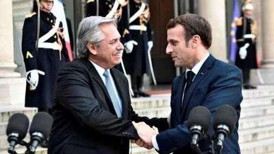 Macron expresó su «apoyo» a la Argentina frente a las nuevas negociaciones con el FMI