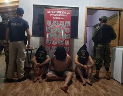 Capturado peligroso criminal brasileño en Amambay