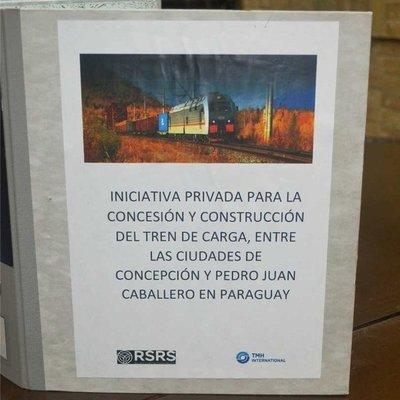 Proponen construcción de tren de cargas entre Concepción y Pedro Juan Caballero