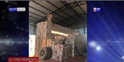 Confiscan cerca de 40 millones de cajetillas de cigarrillo de contrabando