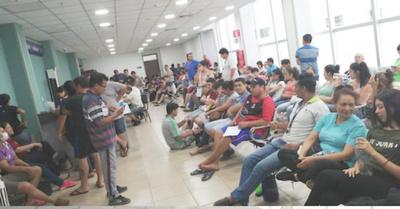 IPS se vio colapsado por los pacientes con dengue